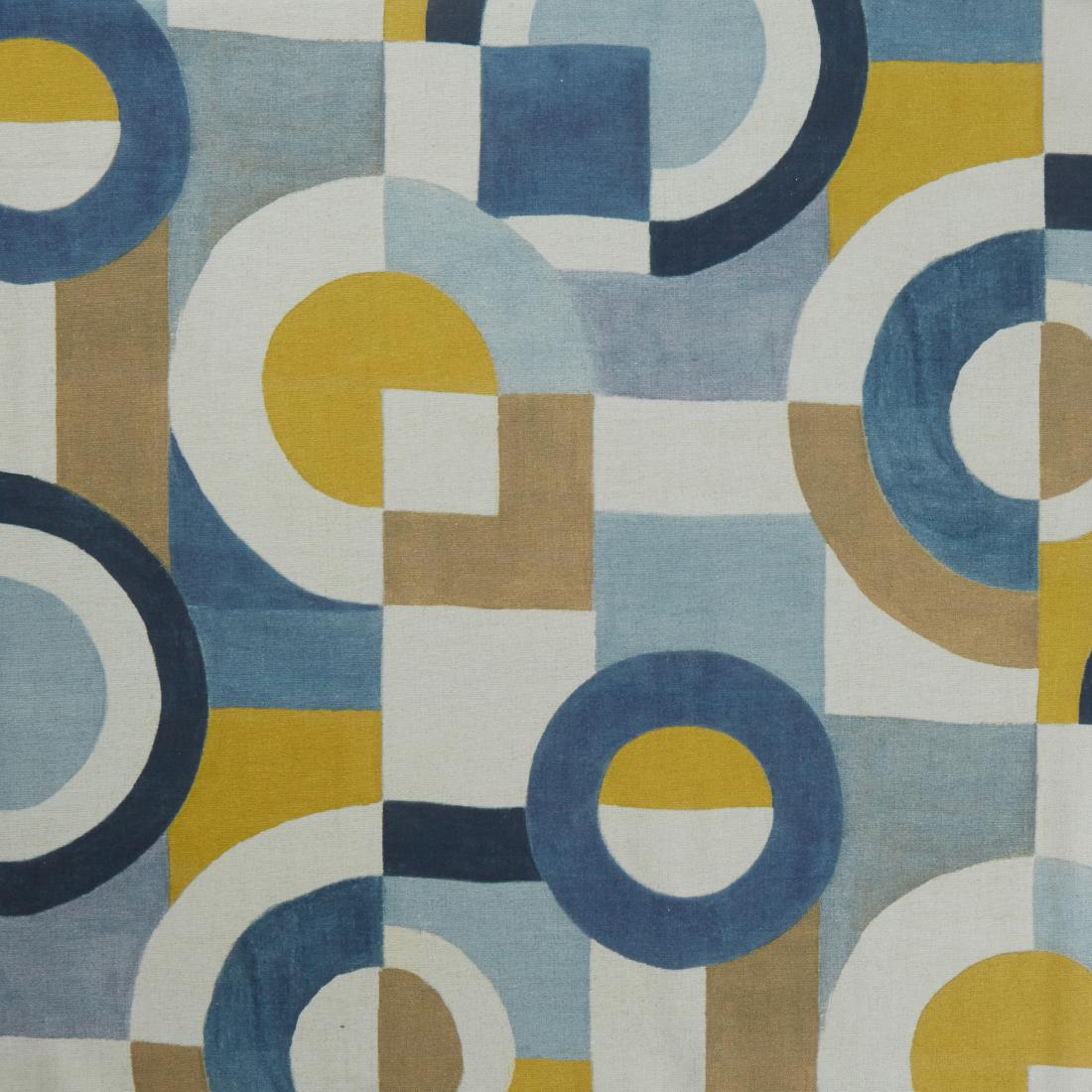 Mondrian Whirlpool Curtain Fabric