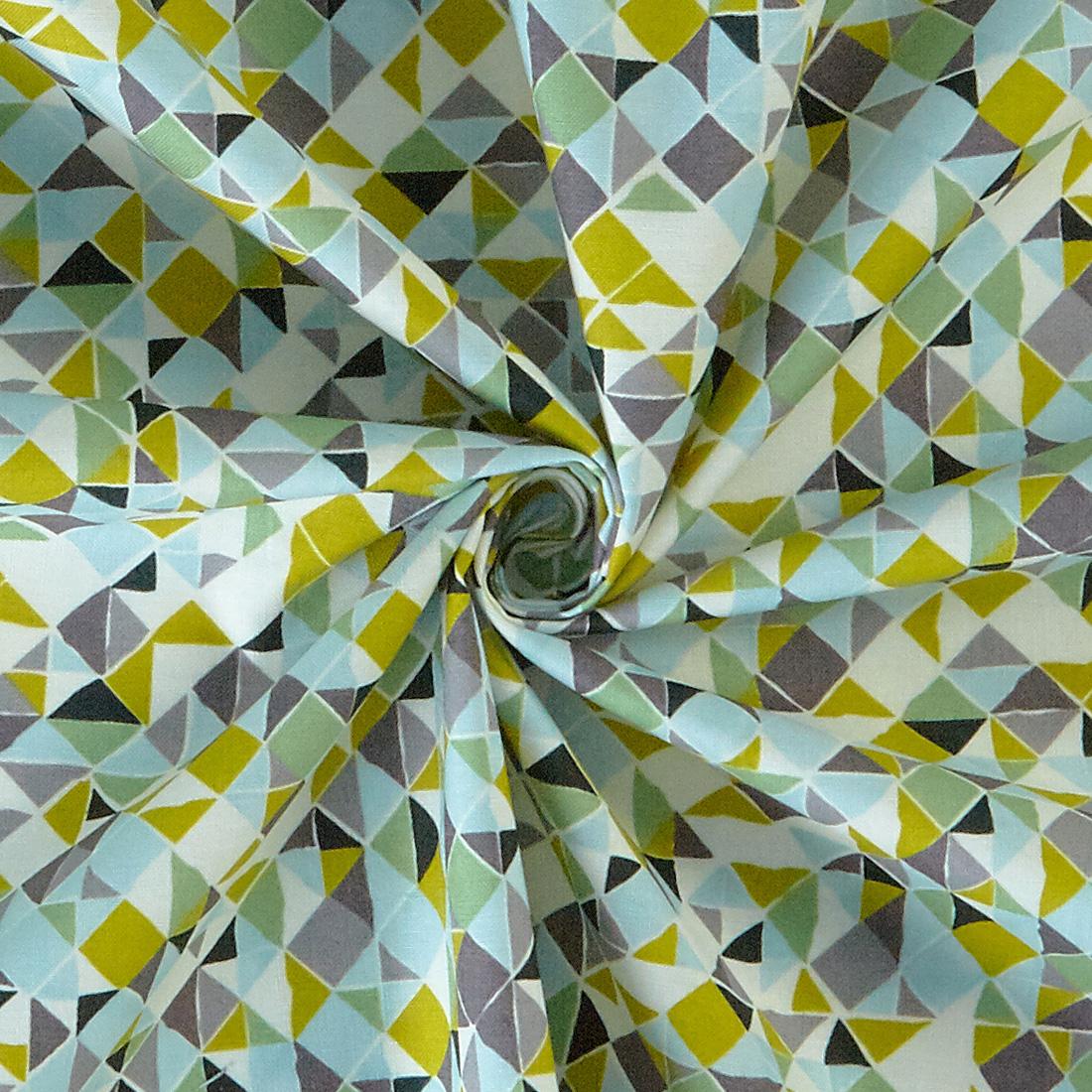 Mosaic Green Multi