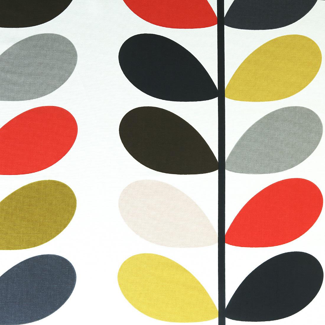 Orla Kiely Multi Stem Tomato Curtain Fabric