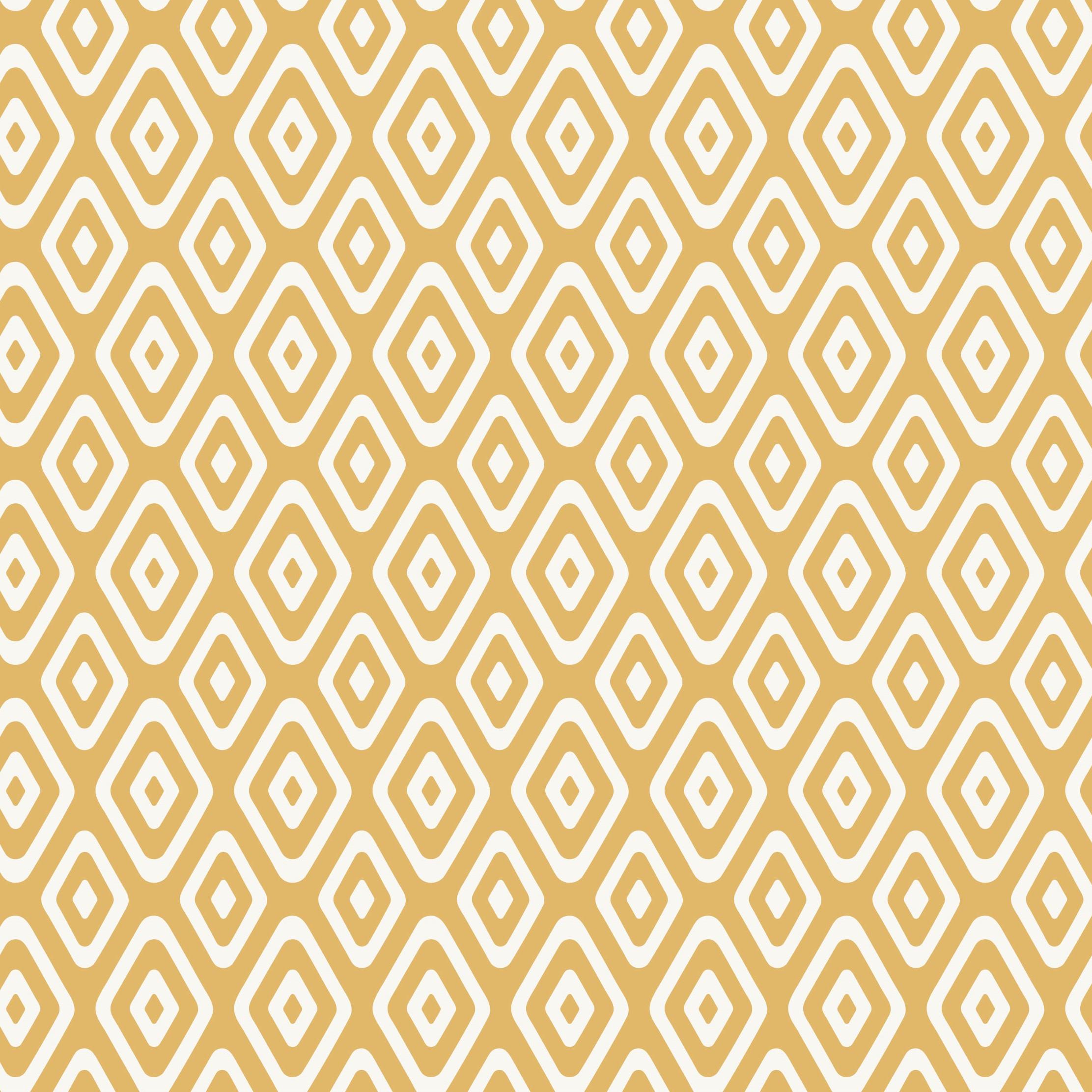 Myrtle Geo Triangles Mustard Craft Fabric