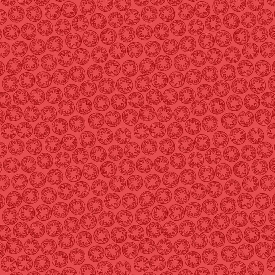 New Forest Winter Blender Red Craft Fabric