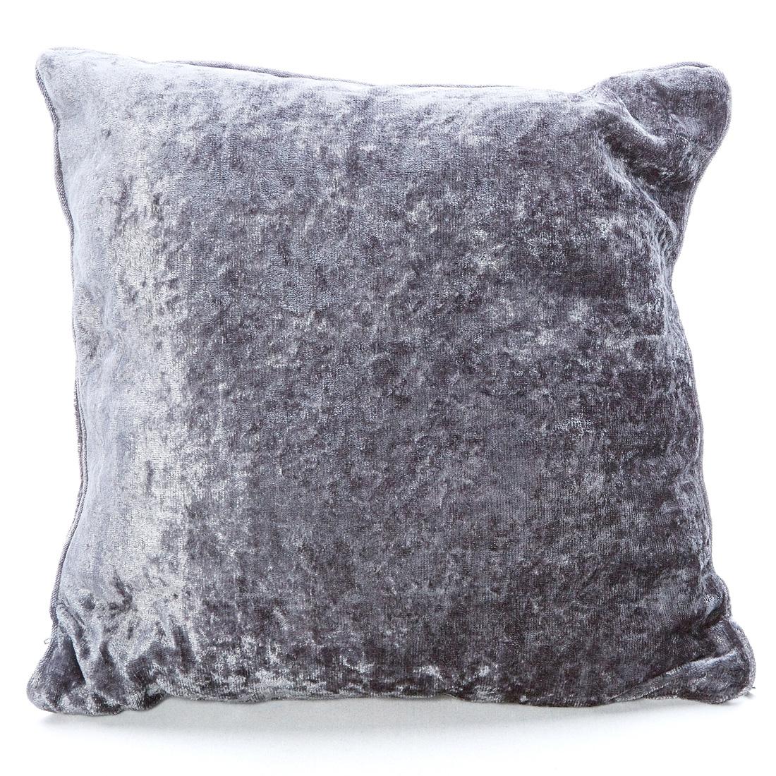 Opulence Silver Cushion