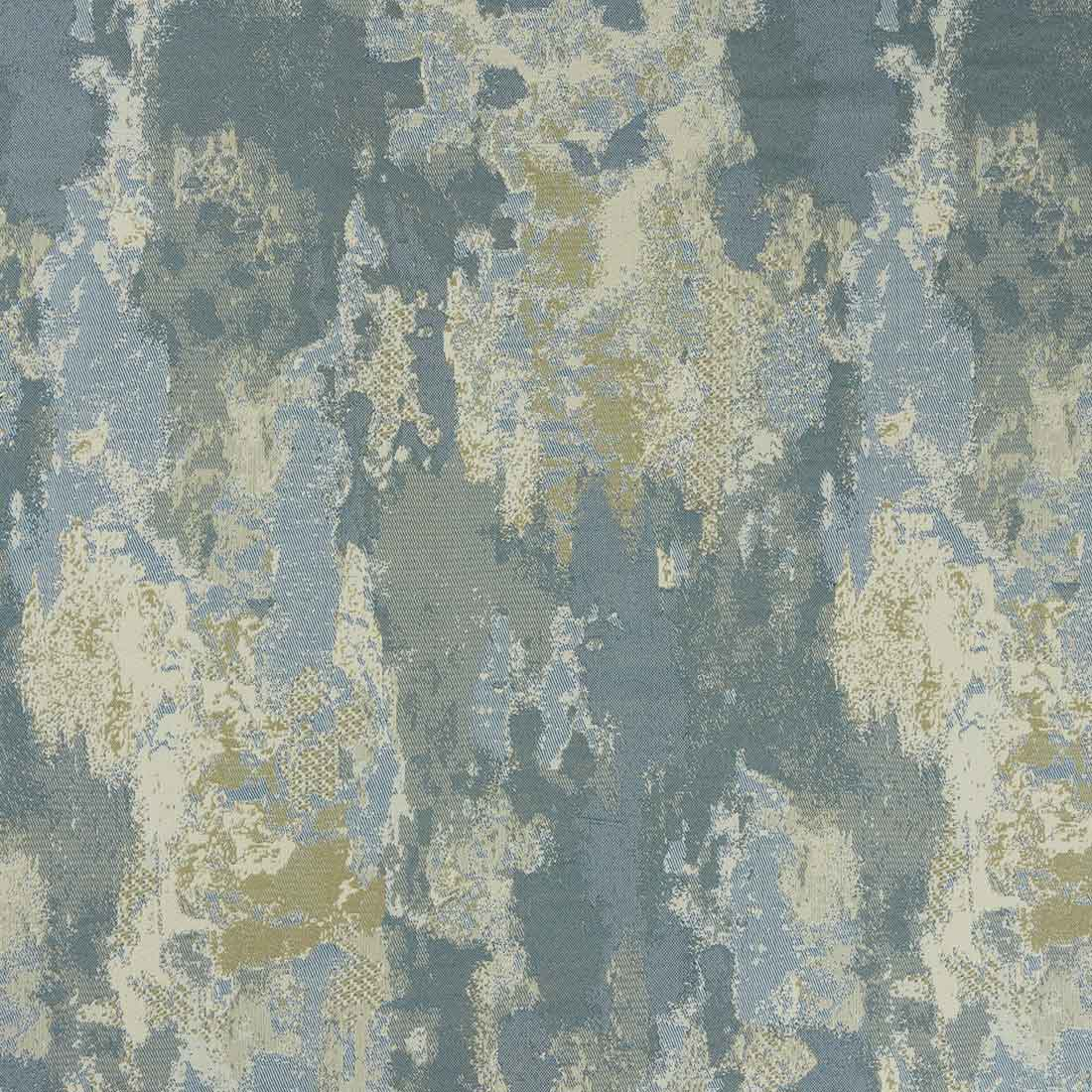 Palmira Navy Curtain Fabric