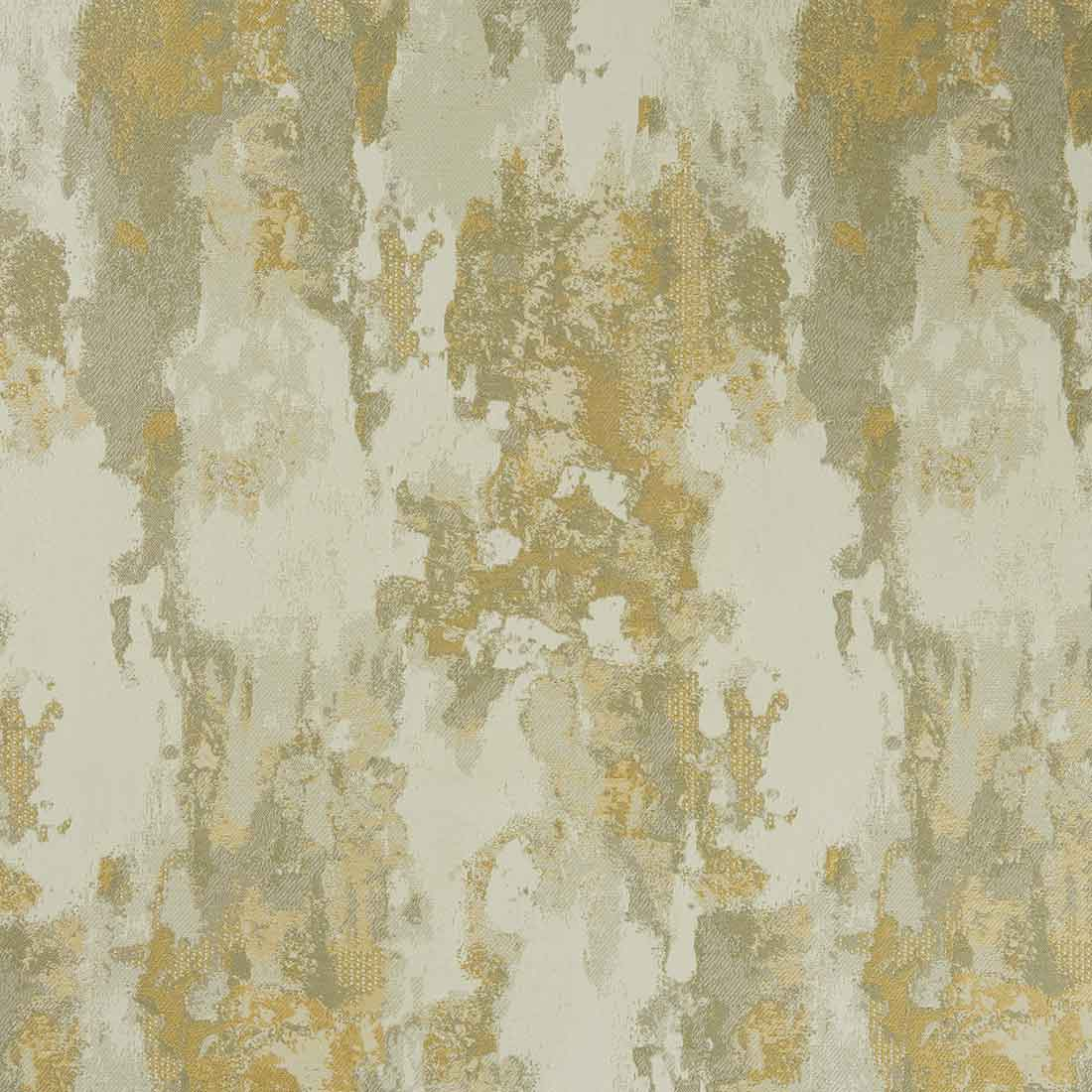 Palmira Ochre Curtain Fabric
