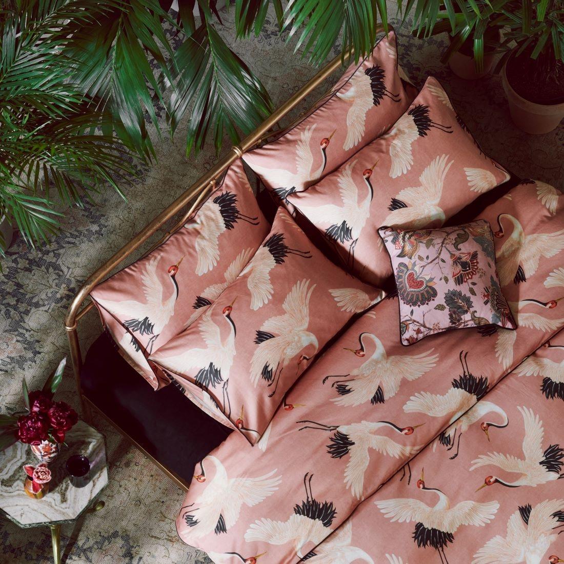 Paloma Faith Oriental Birds Blossom Duvet Set