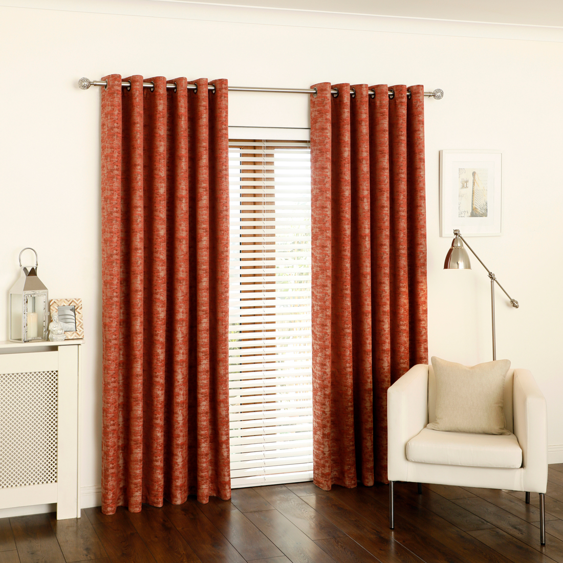 Parkin Spice Eyelet Curtains