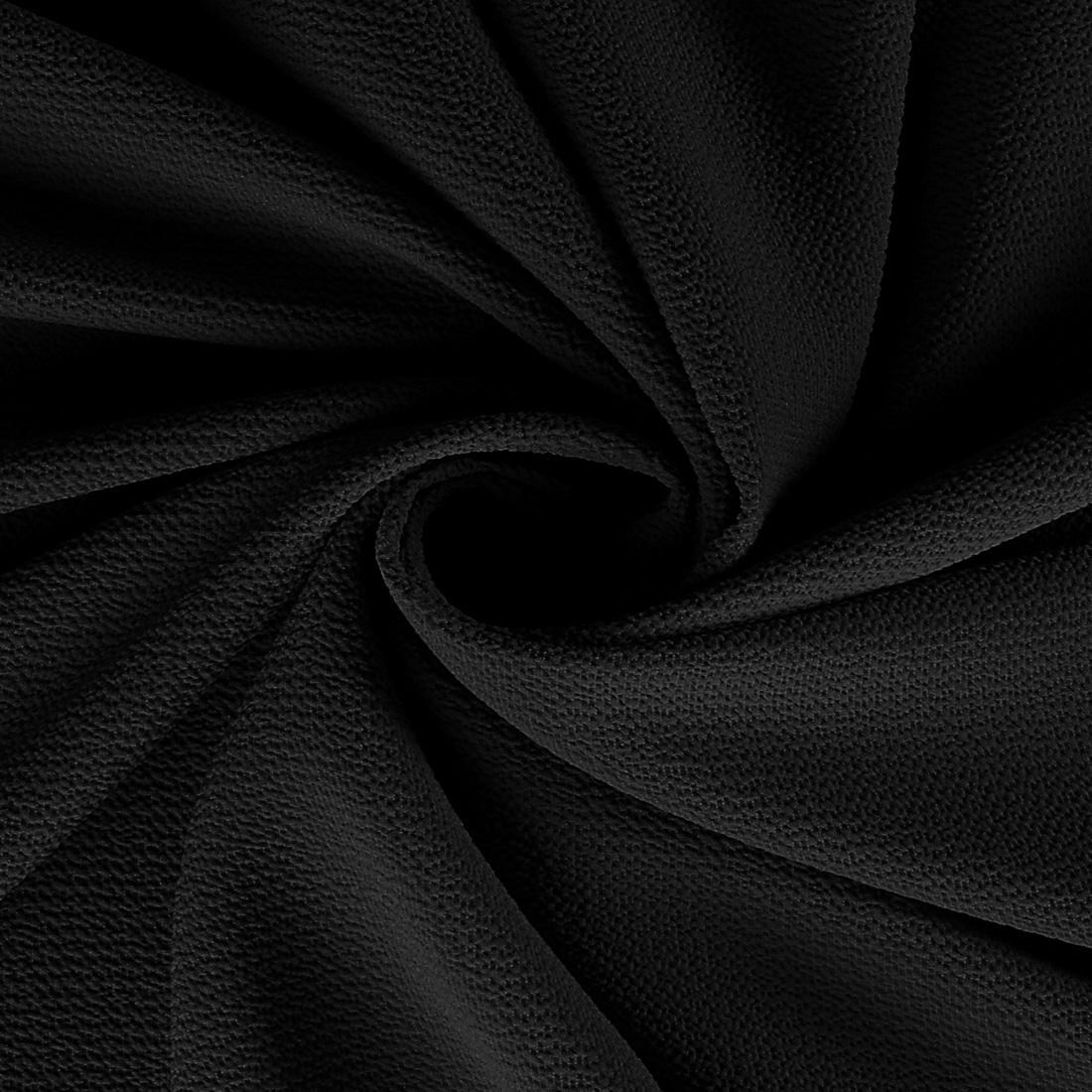Pebble Crepe Black
