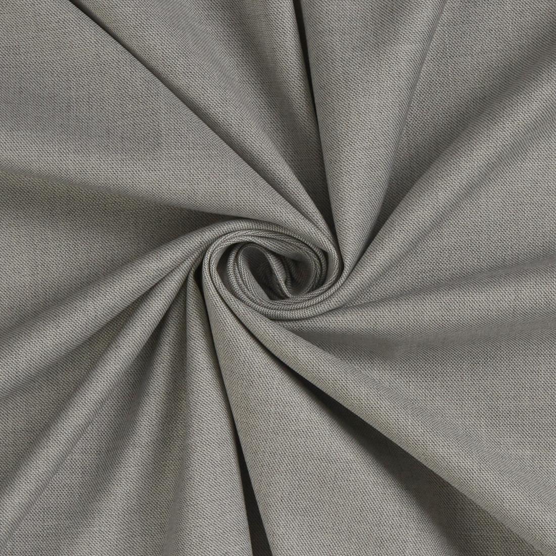 Pindot Suiting Light Grey Fabric