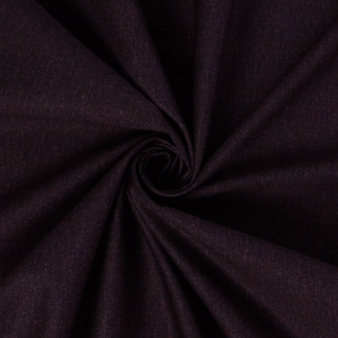 Plain Knit Damson Dress Fabric