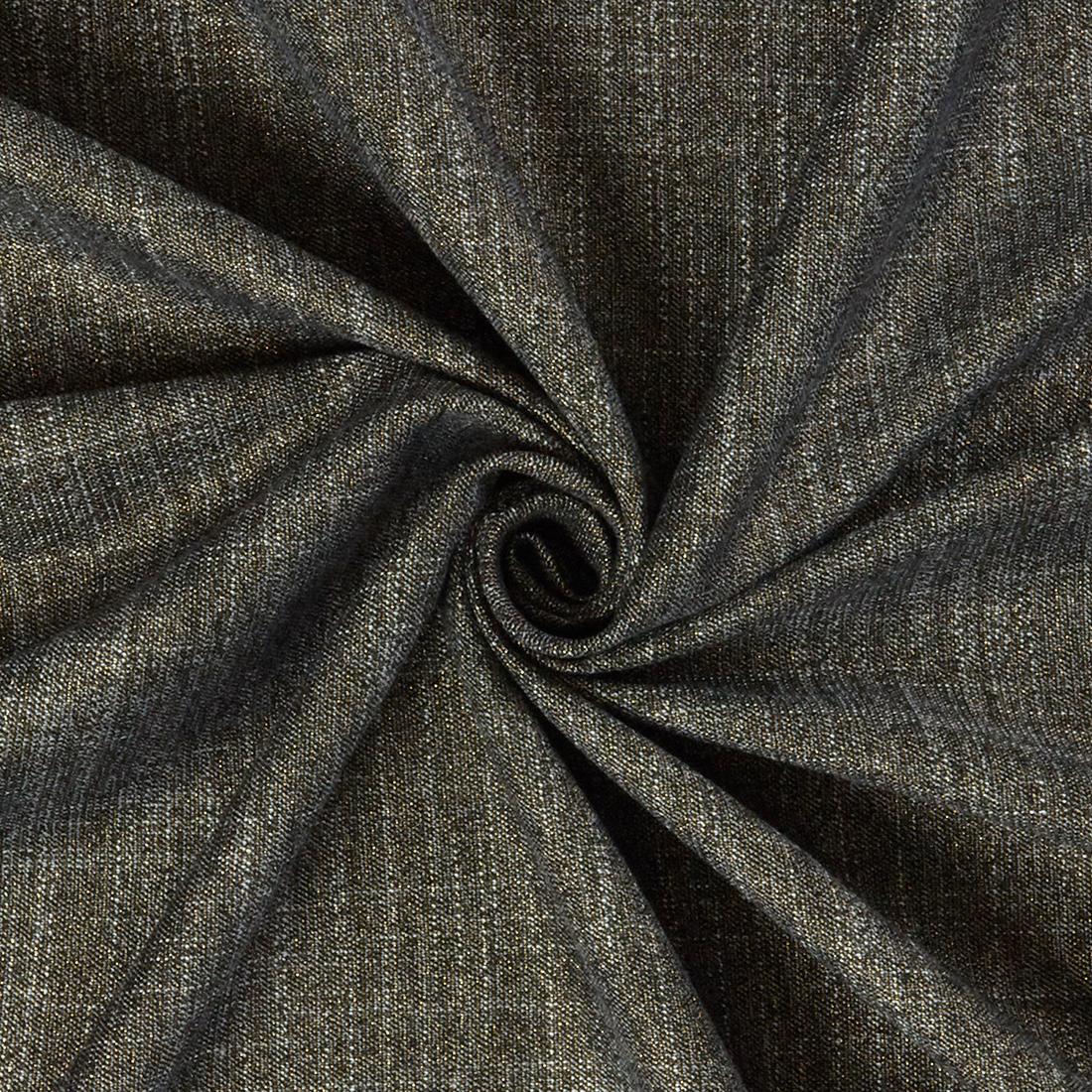 Plain Lurex Suiting Gold Dress Fabric