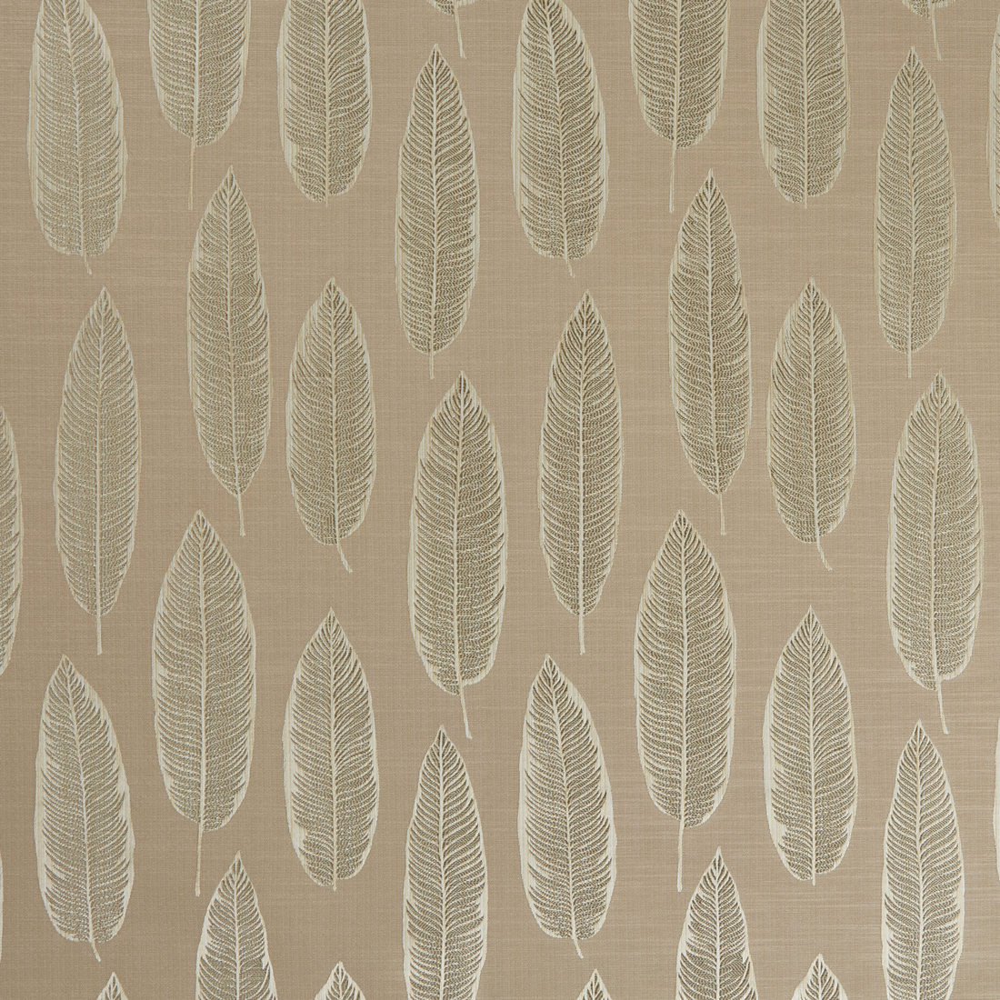 Quill Rosewood Curtain Fabric
