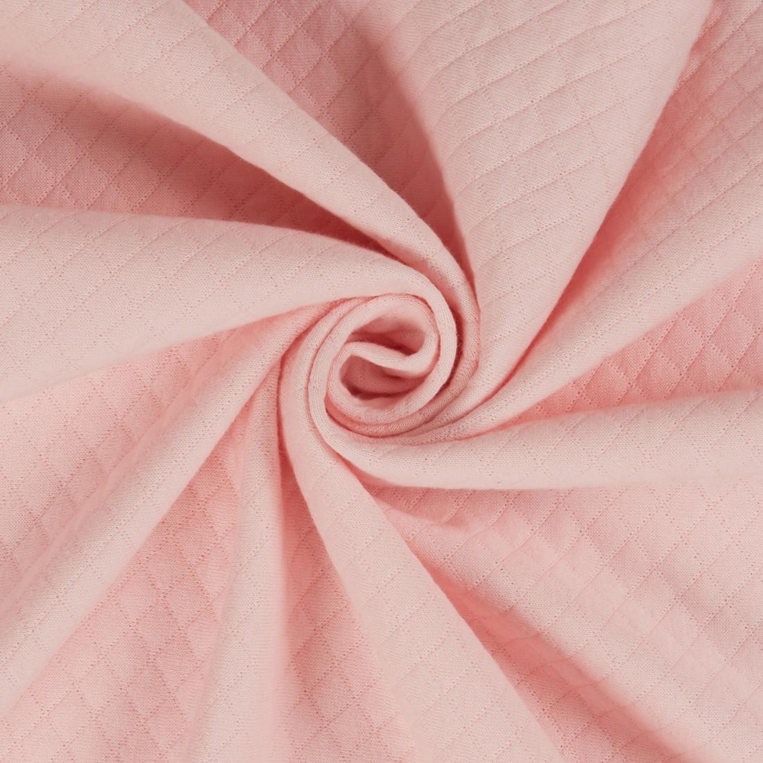 Quilt Jersey Pink Dress Fabric