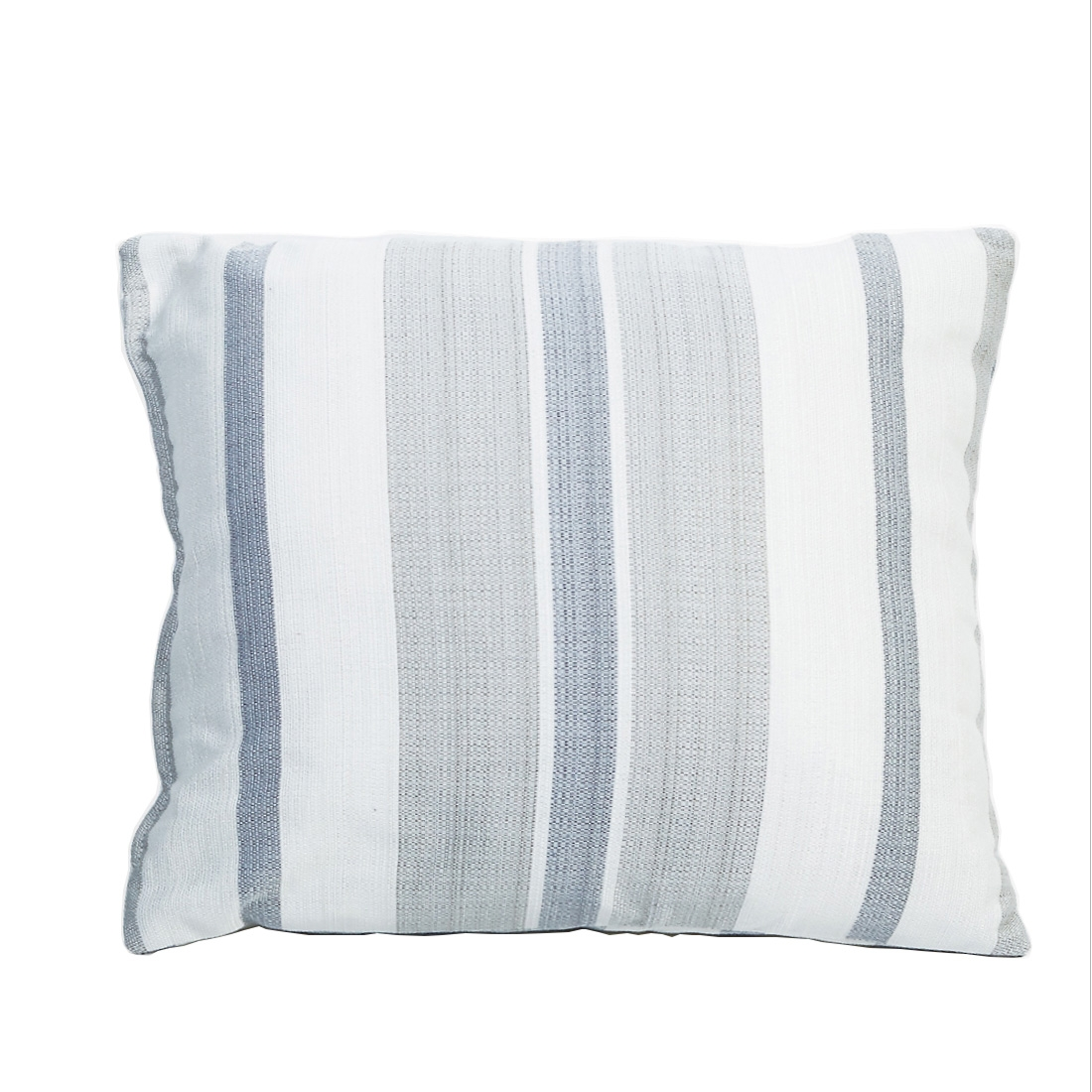 Remus Stripe Slate Cushion Cover