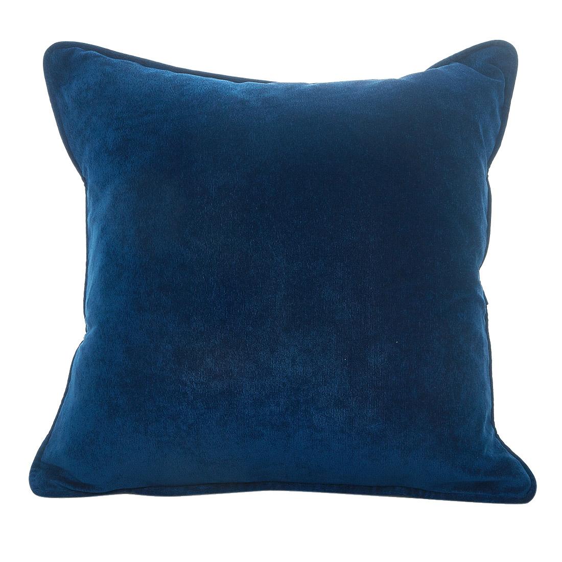 Rib Velour Navy Cushion