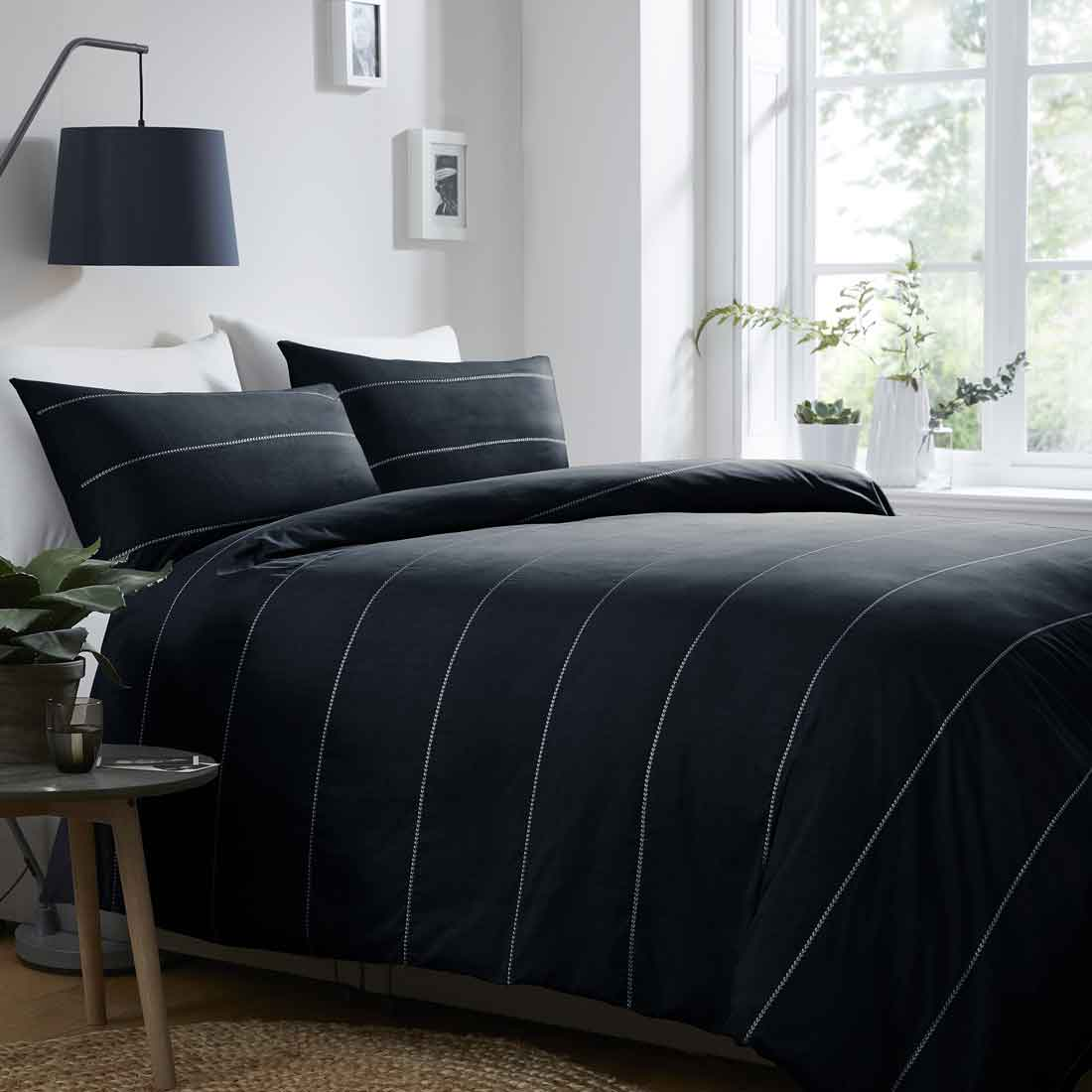 Salcombe Navy Duvet Set