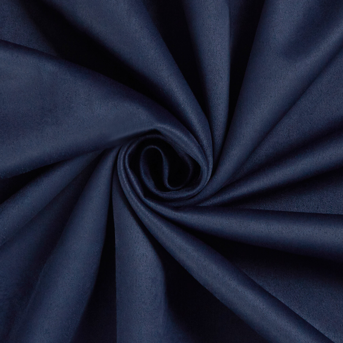 Scuba Suede Navy Fabric