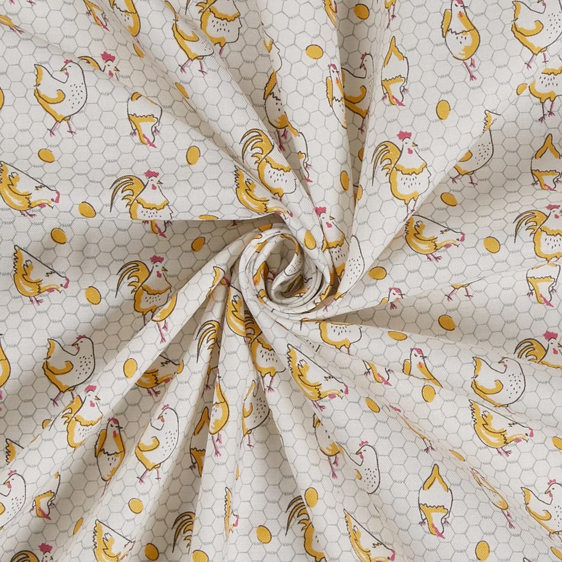 Chickens Craft Cotton