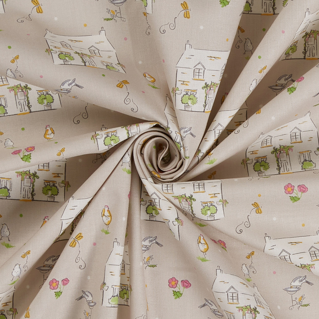 Cottage Garden Craft Cotton
