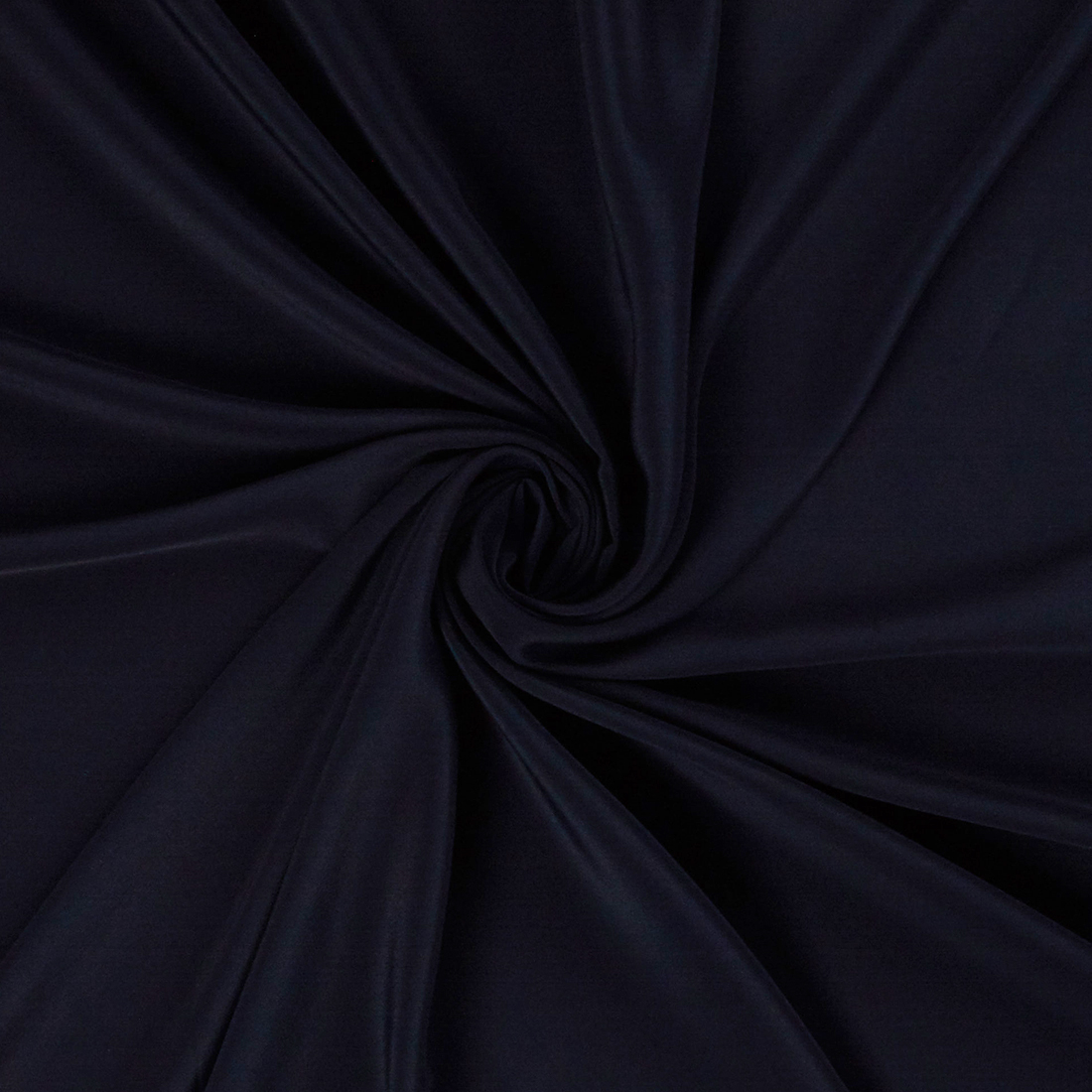 Silk Acetate Navy Dress Fabric