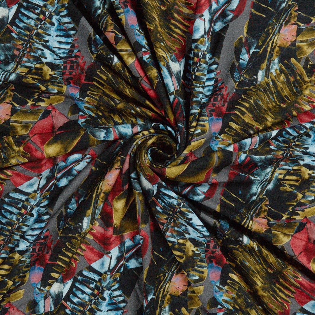 Sinharaja Red Dress Fabric