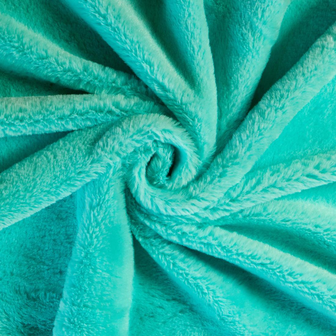 Snuggle Velour Turquoise