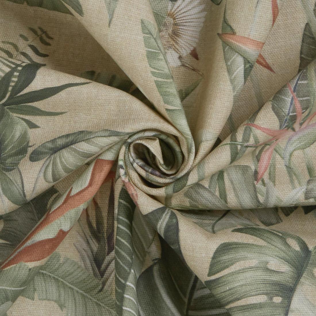 Soft Fern Sage Dress Fabric