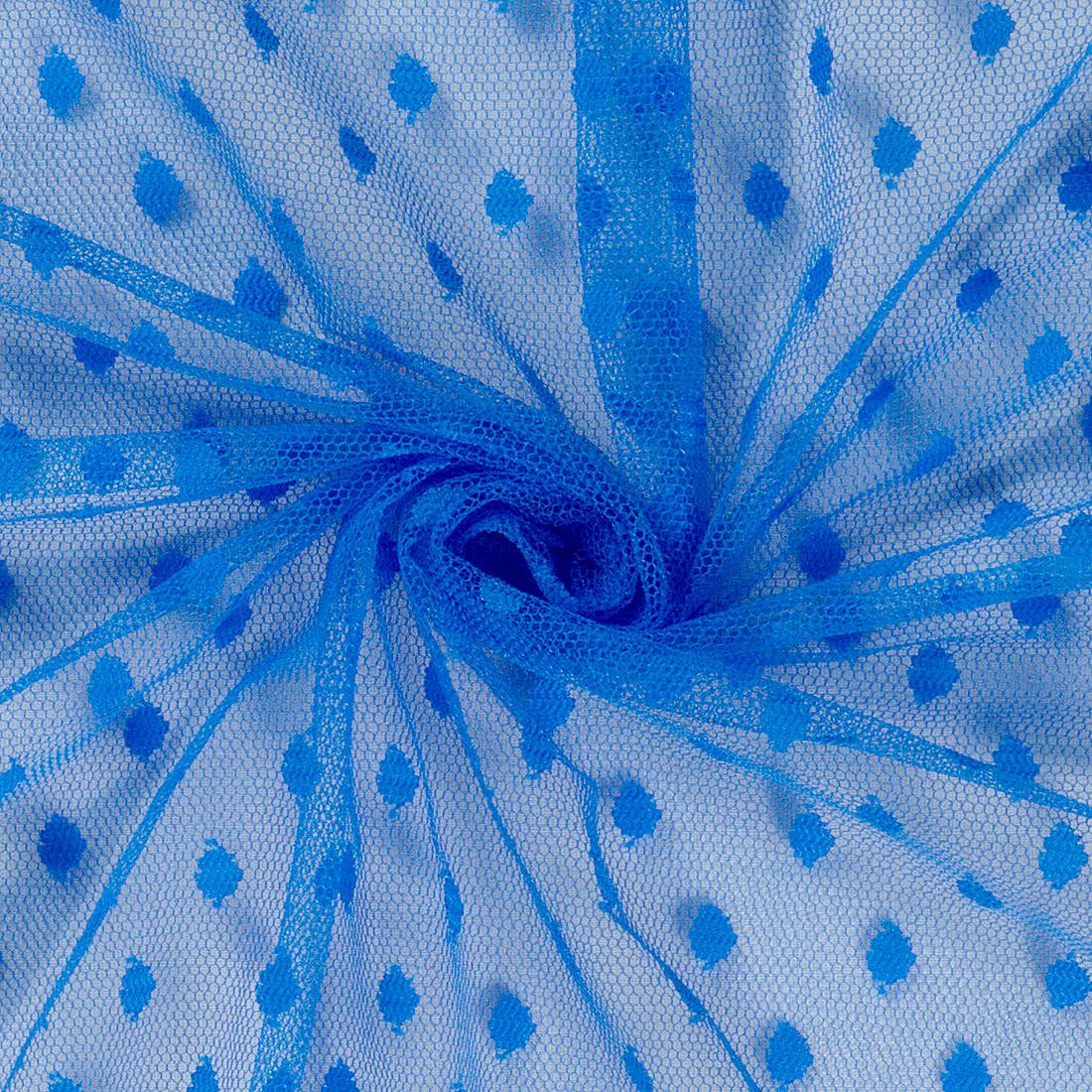 Spot Tulle Royal Dress Fabric
