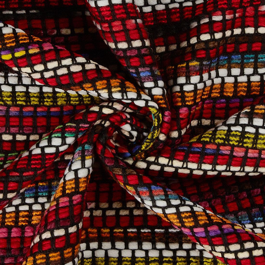 Stripe Boucle Black