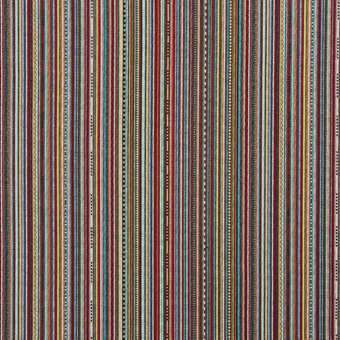 Stripe Geo Multi Upholstery Fabric