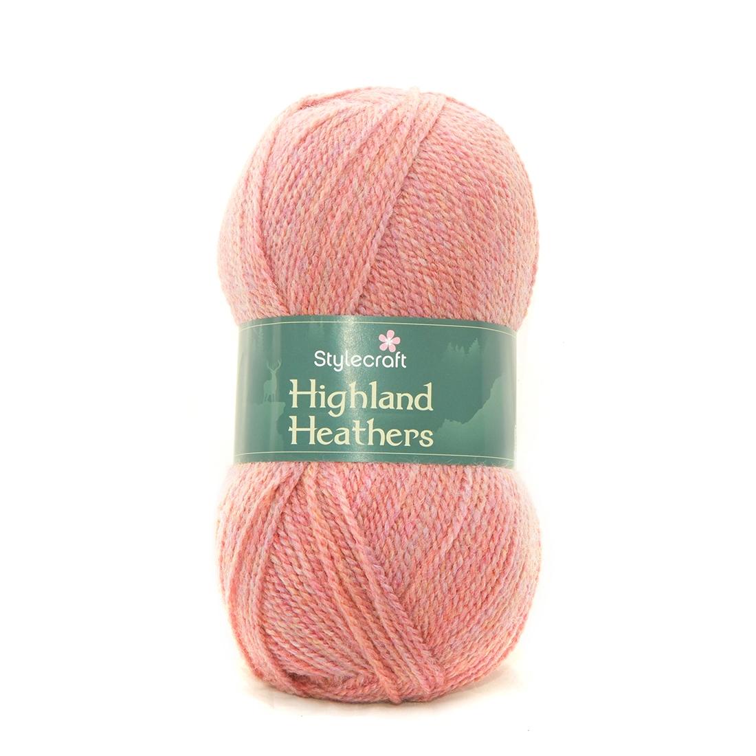 Stylecraft Highland Heathers Wild Salmon 3745