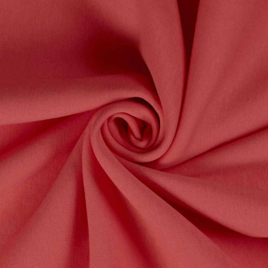 Sweatshirt Jersey Coral Dress Fabric