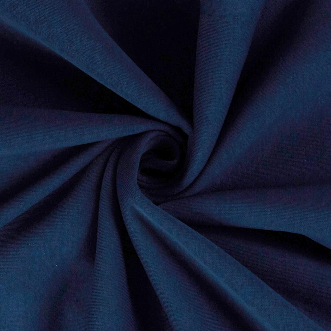 Sweatshirt Jersey Navy Dress Fabric