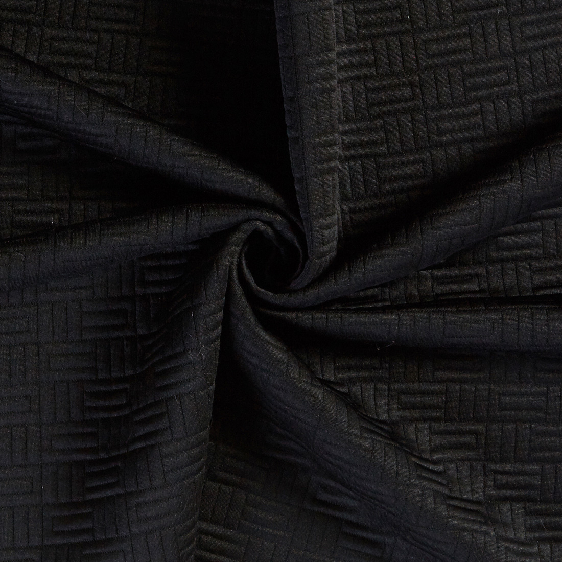Tetris Quilt Black