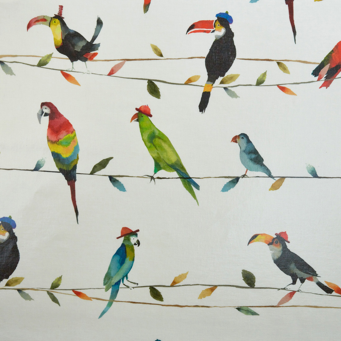 Toucan Talk Paintbox Oil Cloth