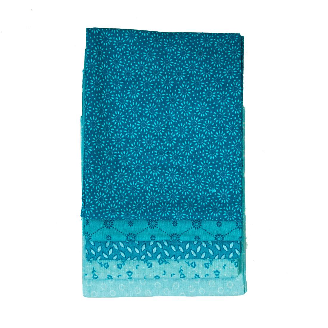 Cotton Quarters Trend Turquoise