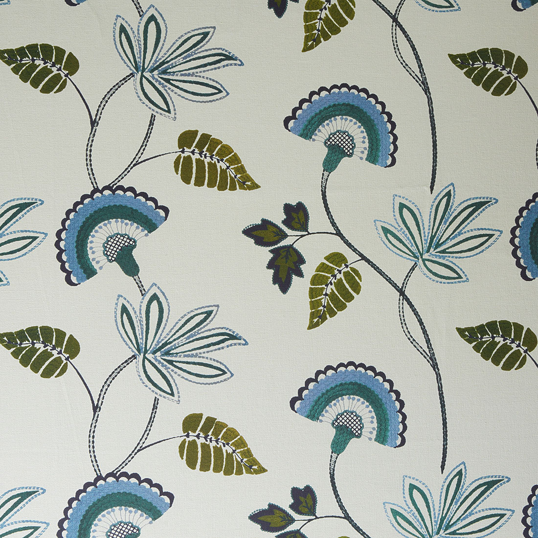 Tulsa Lagoon Curtain Fabric
