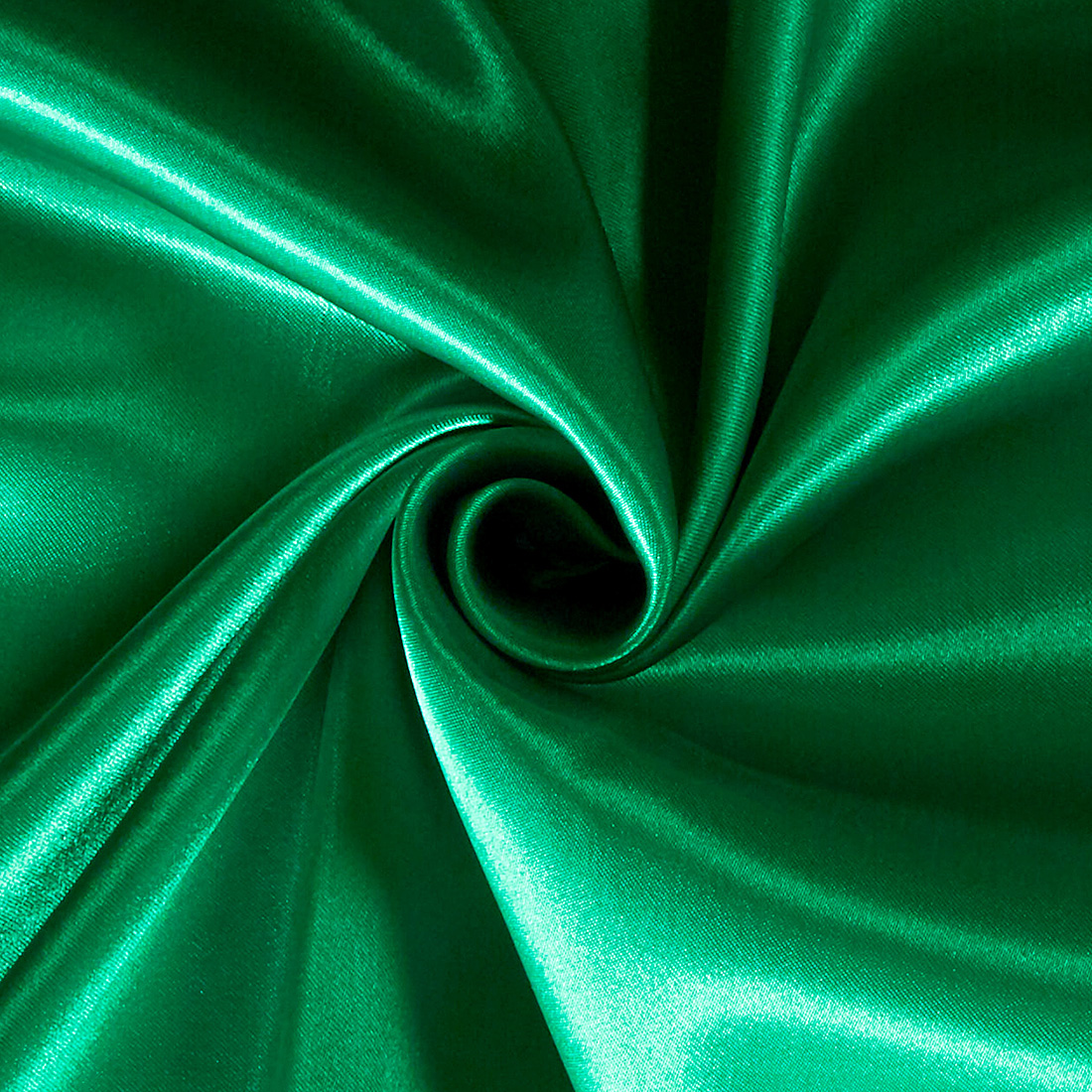 Poly Satin Emerald