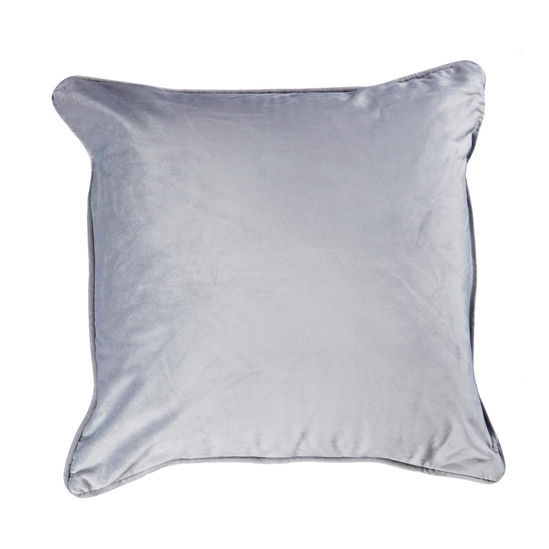 Velour Grey Cushion