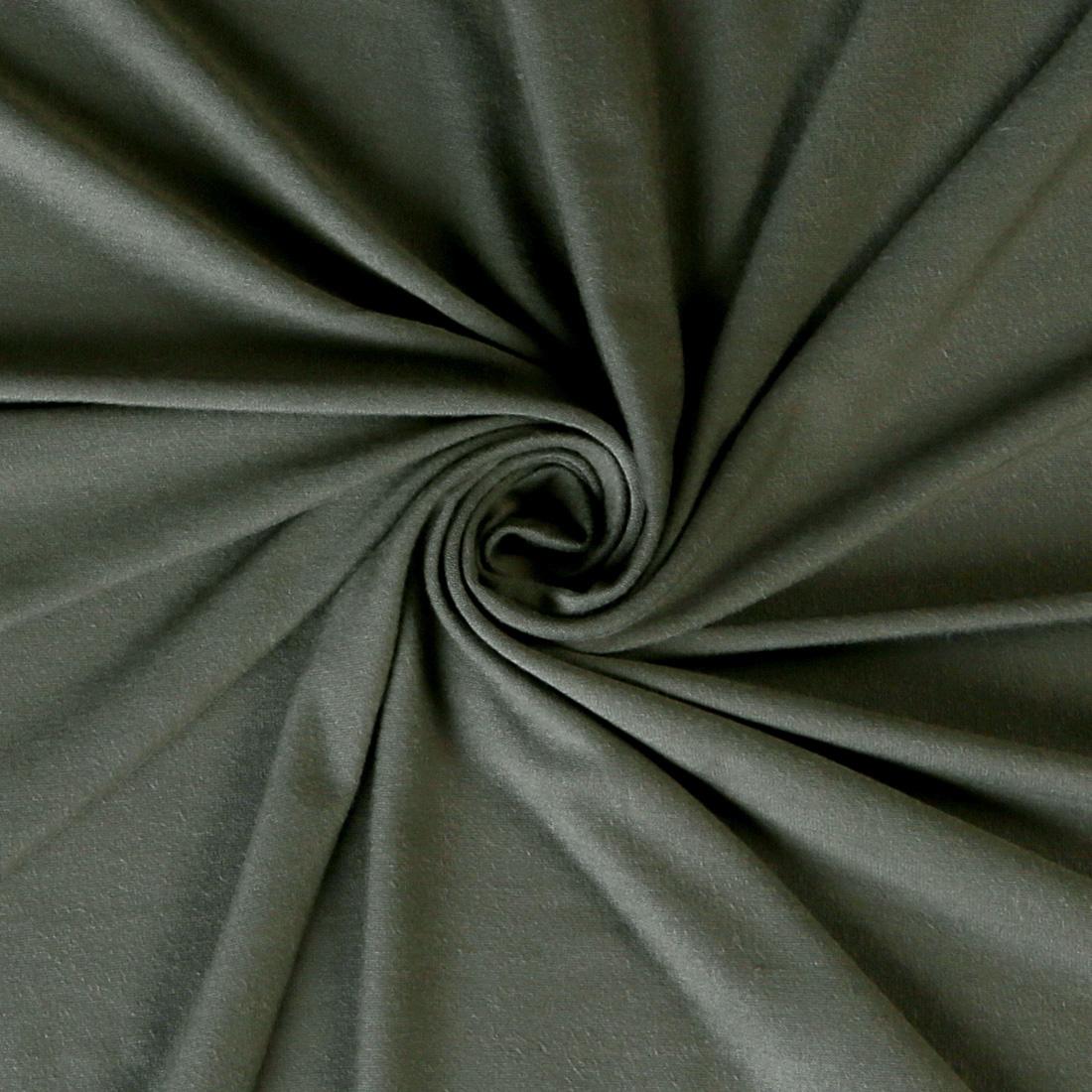 Viscose Spandex Jersey Khaki