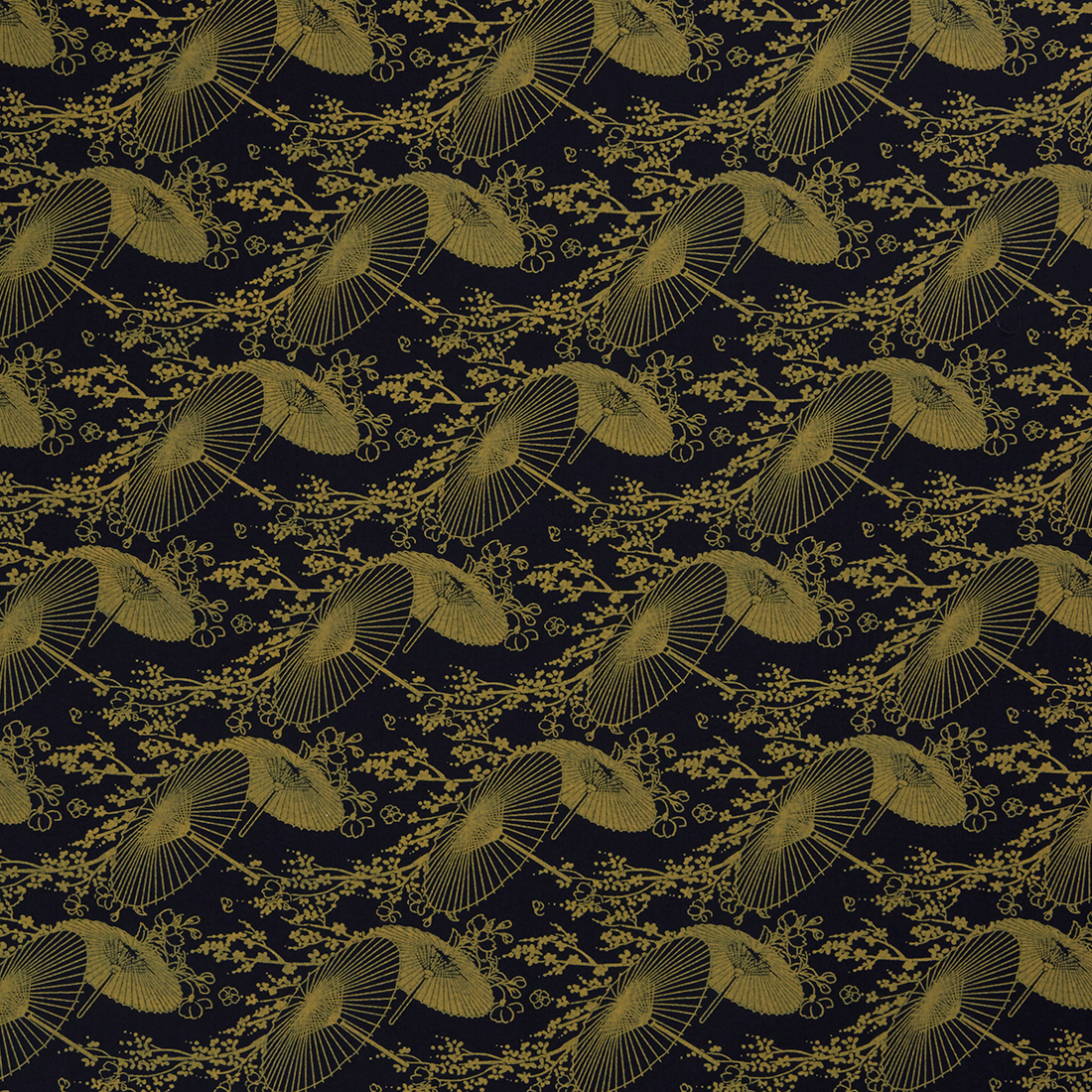 Wagasa Black Dress Fabric