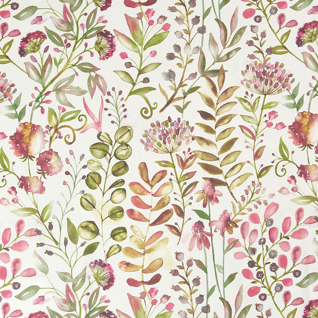 Whitwell Magenta Curtain Fabric